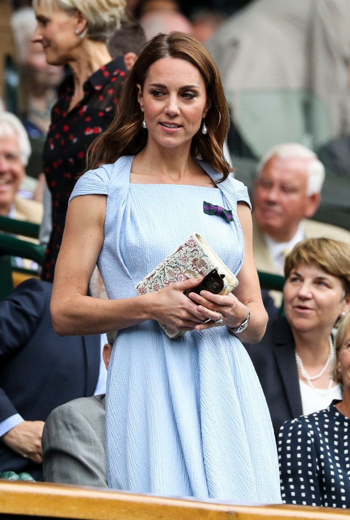 kate middleton, wimbledon men's finals