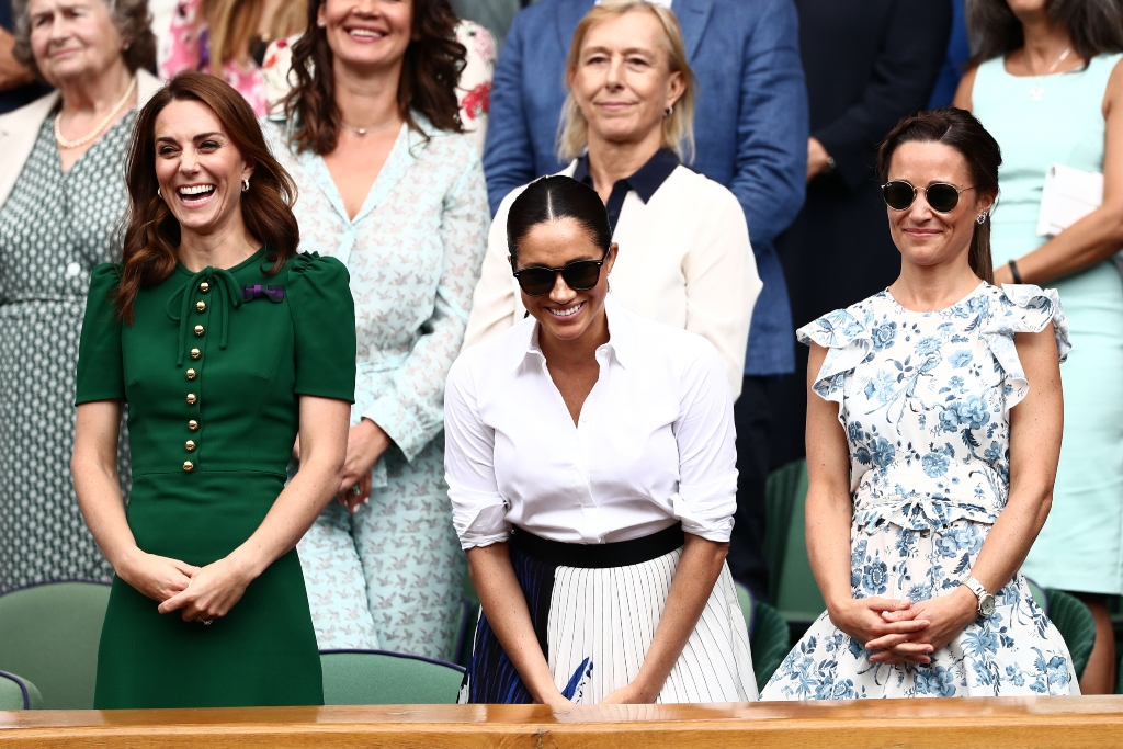 kate middleton, meghan markle, pippa middleton, wimbledon finals