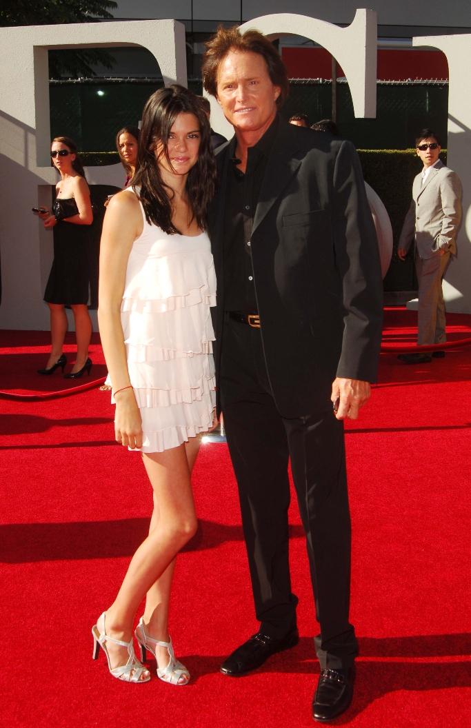 kendall jenner, bruce jenner, caitlyn jenner, 2009 espy awards