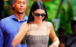 Kendall Jenner, celebrity style, summer, sundress,