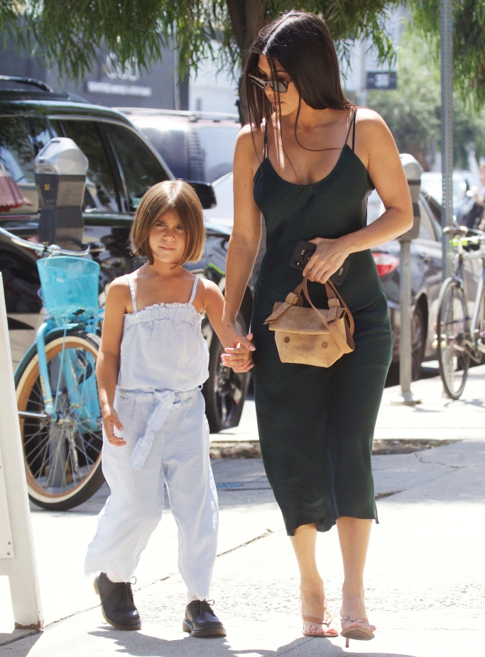 kourtney kardashian and penelope, gianvito rossi Calypso 70 leather sandals, shopping, kid's oxfords