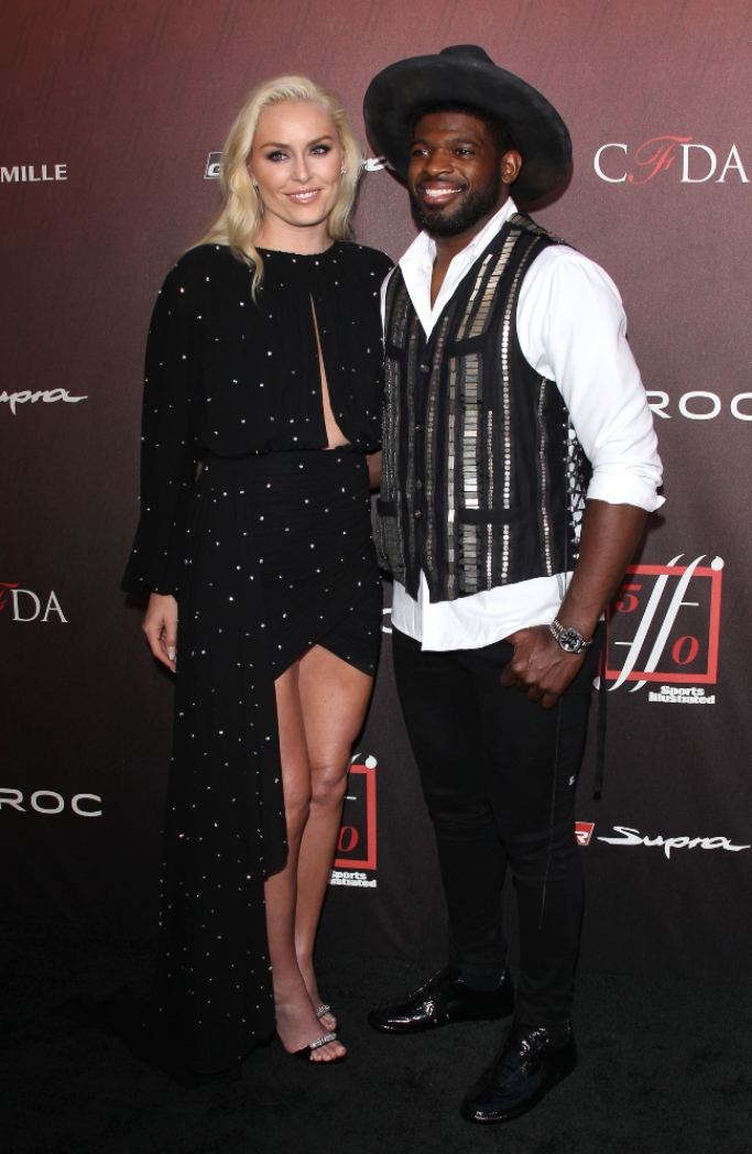 Lindsey Vonn, PK Subban, 4th Annual Sports Illustrated Fashionable 50 launch