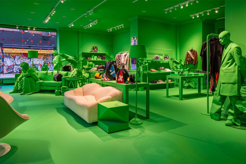 Louis Vuitton Virgil Abloh NYC Pop-Up Shops