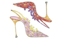 Monolo Blahnik coloring pages