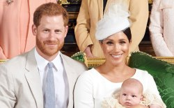 Prince Harry, Meghan Markle, Archie, christening