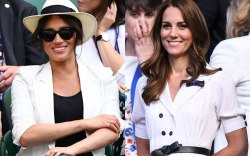 Meghan Markle, Kate Middleton, Wimbledon 2019