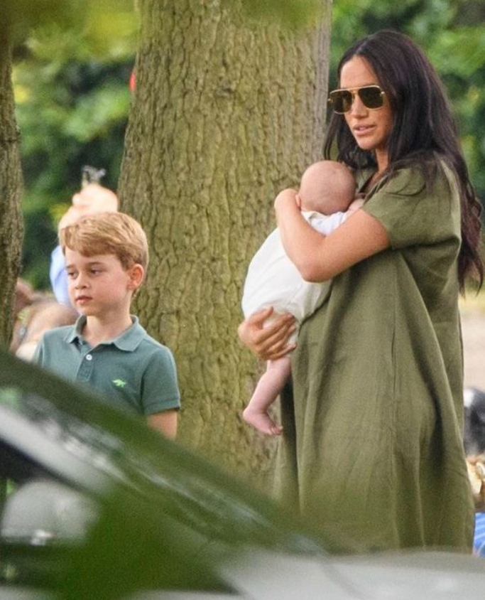 meghan markle, prince George, baby archie
