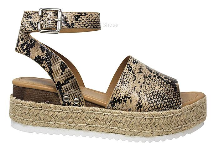 MVE Women's Platform Sandals