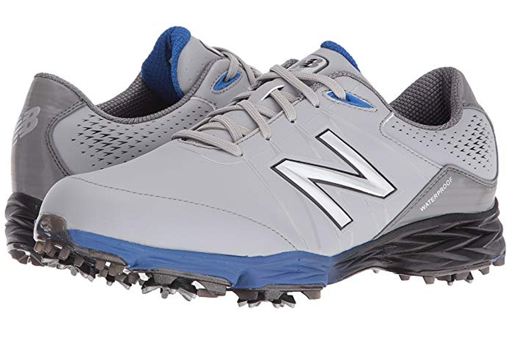 new Balance Men's Nbg2004 Waterproof Spiked Comfort Golf Shoe