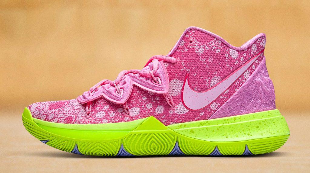 SpongeBob SquarePants x Nike Kyrie 5 Patrick, pink