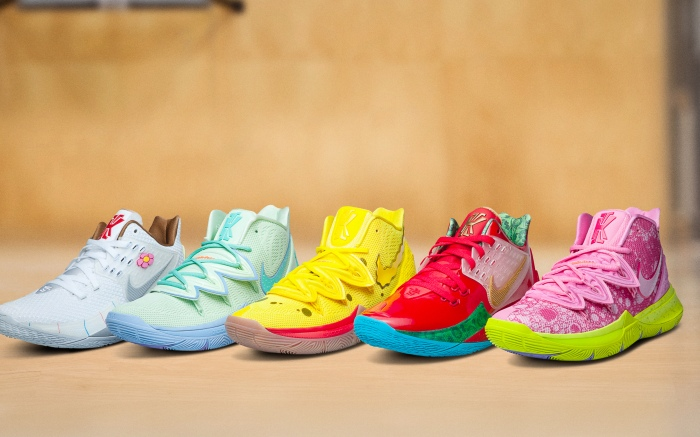 SpongeBob SquarePants x Nike Kyrie Collection