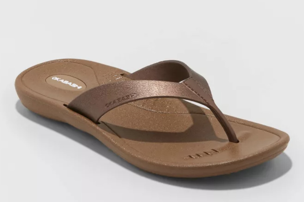 okabashi sandal, usa made shoes, flip flop