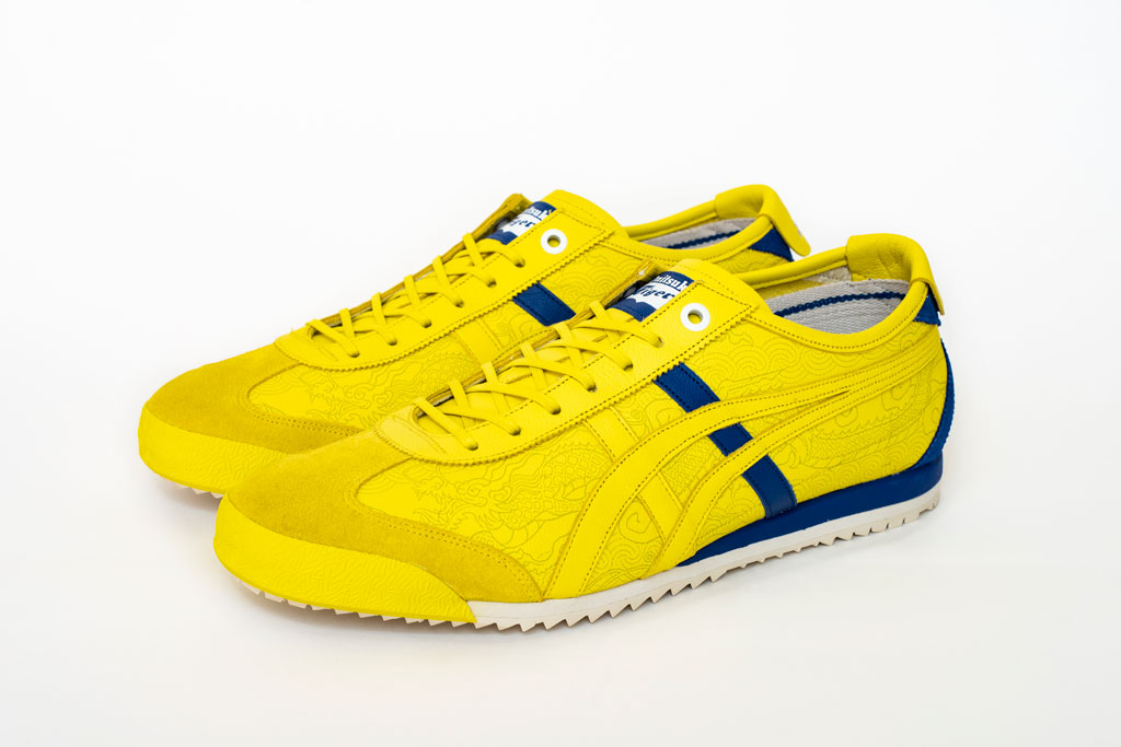 Onitsuka Tiger x Street Fighter Mexico 66 SD sneaker, yellow