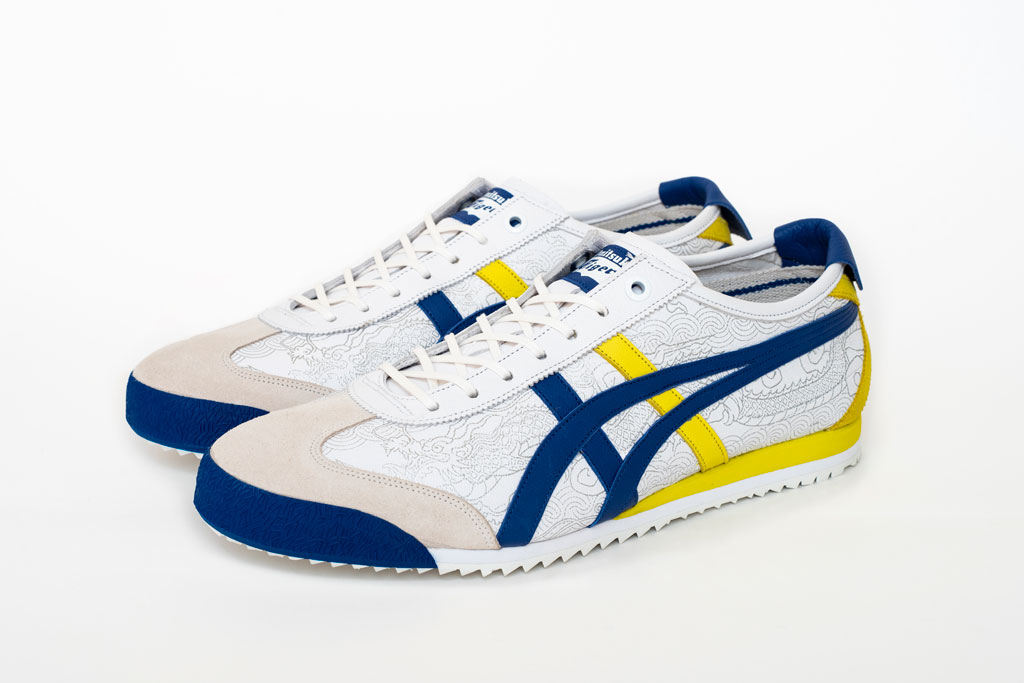Onitsuka Tiger x Street Fighter Mexico 66 SD sneaker.
