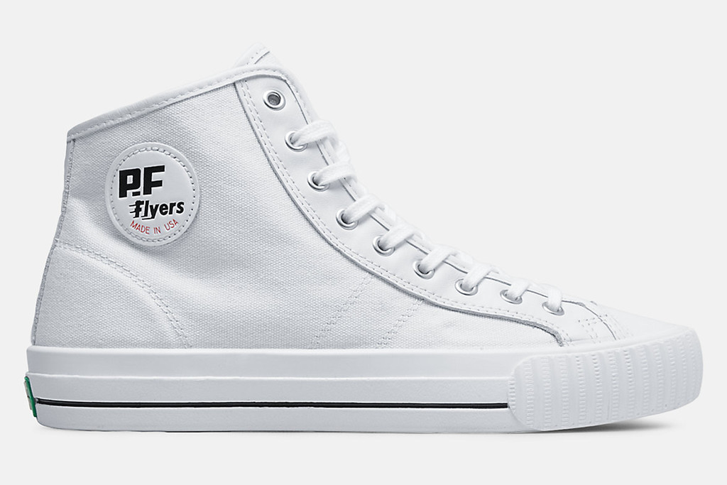 pf flyers sneakers, made in usa sneakers, pf flyers high