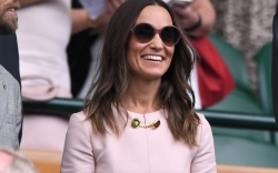 Pippa Middleton on Centre Court at