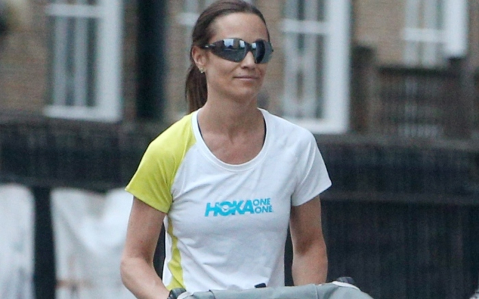 pippa middleton on mom duty