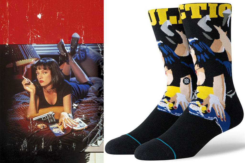 Quentin Tarantino, Stance socks, pulp fiction,
