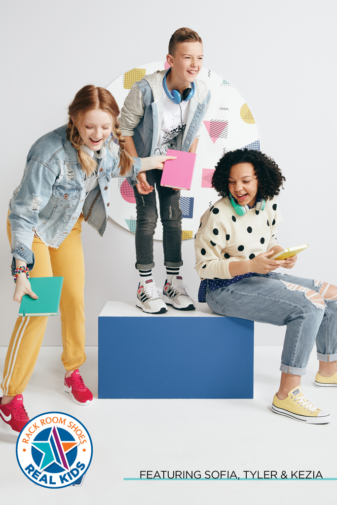 Rack Room Real Kids Back-to-school Campaign
