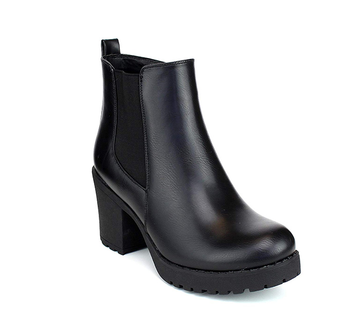 Refresh Club-01 Chunky Ankle Boot