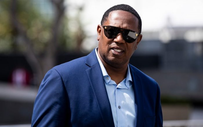 US rapper Master P attends the ceremony 'Nipsey Hussle Celebration of Life' to honor the memory of the late rapper at the Staples Center Stadium in Los Angeles, California, USA, 11 April 2019. Nipsey Hussle was shot on March 31 2019 on the parking lot in front of his shop 'Marathon Clothing'.Nipsey Hussle Celebration of Life ceremony in Los Angeles, USA - 11 Apr 2019