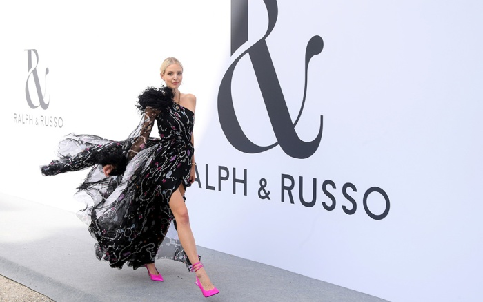 Leonie Hanne Ralph & Russo show, Front Row, Fall Winter 2019, Haute Couture Fashion Week, Paris, France - 01 Jul 2019