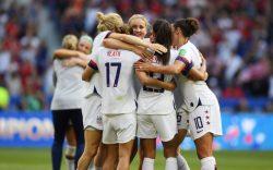 USA celebrate at the final whistleUSA
