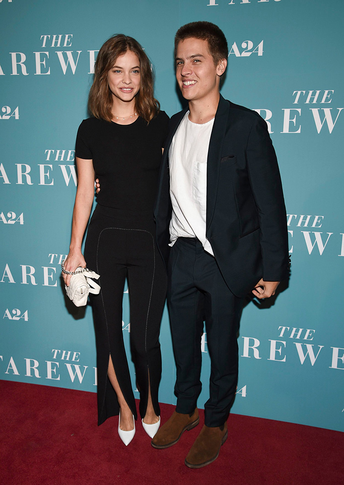 Barbara Palvin, Dylan Sprouse, the farewell, red carpet
