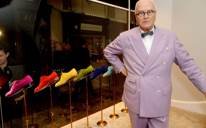 Manolo Blahnik Manolo Blahnik store opening, London, Britain - 02 Feb 2016