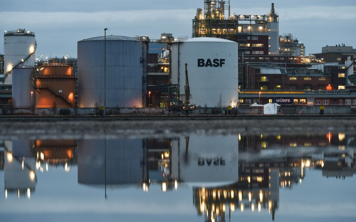 BASF Factory in Germany