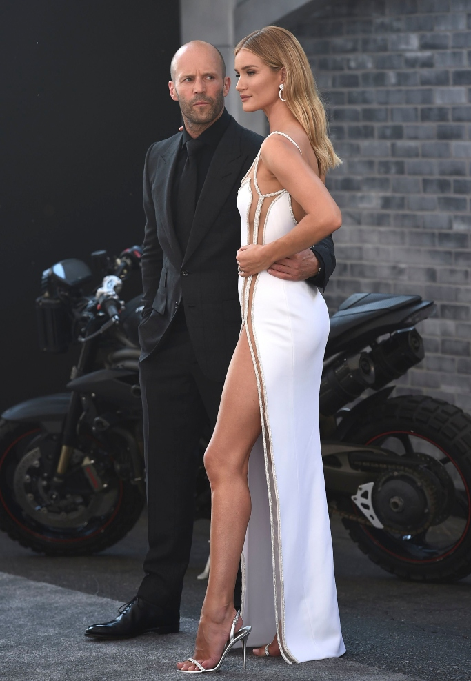 Fast & Furious Presents: Hobbs & Shaw premiere, Jason Statham and Rosie Huntington-Whiteley