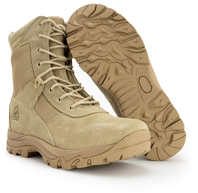 Ryno Gear Combat Boots With Coolmax Lining