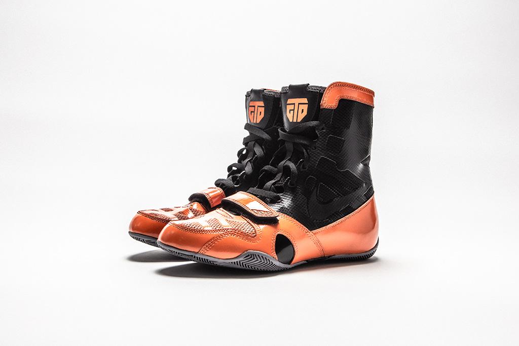 The Shoe Surgeon custom boxing boots Gervonta Tank Davis