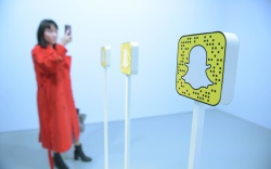 Snapchat activation Activations, Advertising Week Europe,