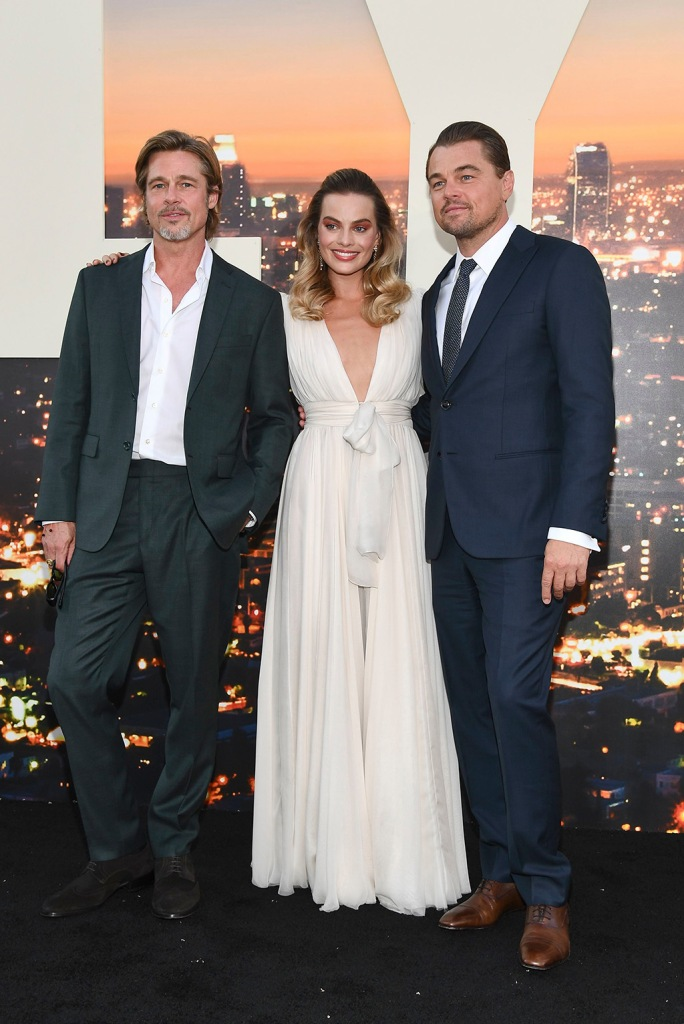 Brad Pitt, Margot Robbie and Leonardo DiCaprio'Once Upon a Time in Hollywood' film premiere, Arrivals, TCL Chinese Theatre, Los Angeles, USA - 22 Jul 2019