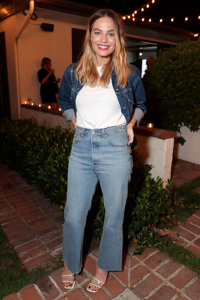 Margot RobbieLevi's and RAD dinner hosted by Margot Robbie and Austin Butler, Los Angeles, USA - 23 July 2019Wearing Levi's