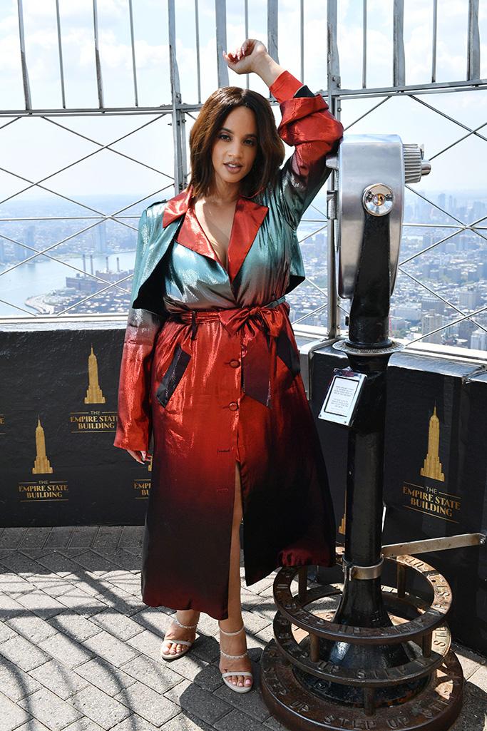 Dascha Polanco 'Orange Is The New Black' TV show cast at the Empire State Building, New York, USA - 26 Jul 2019