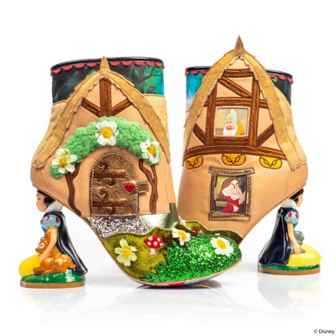 """Disney Princess x Irregular Choice """"Happily Ever After"""" boots"""