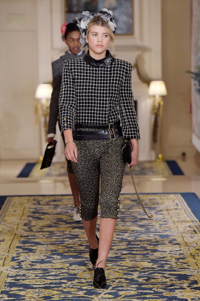 sofia richie, Chanel Metiers d'Art Collection