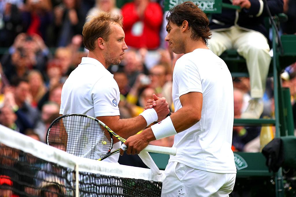 Rafael Nadal Steve Darcis Wimbledon