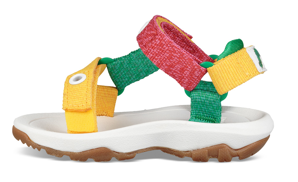 Teva XLT2 sandal for kids, the very hungry caterpillar collaboration