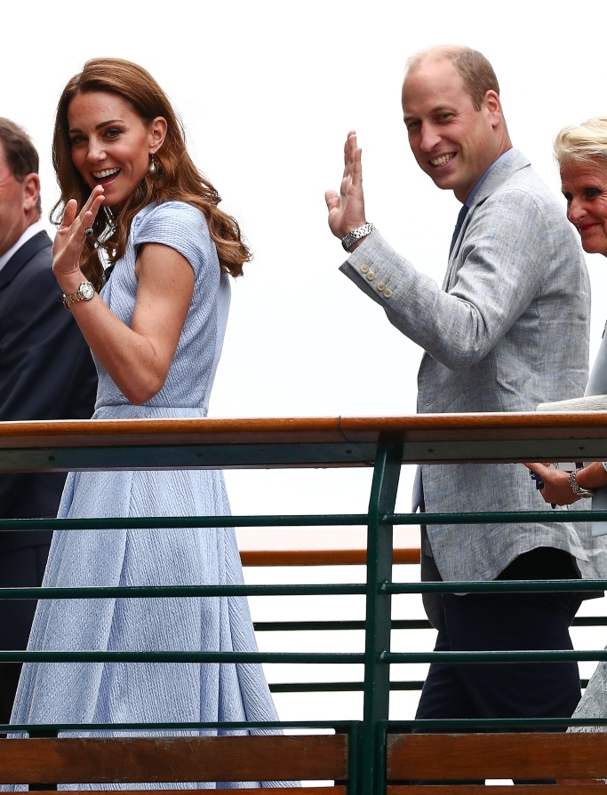 kate middleton, prince william, wimbledon men's finals