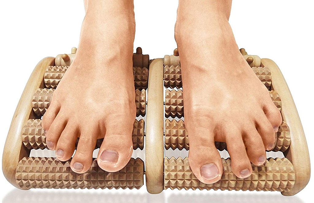 TheraFlow Dual Foot Massager Roller