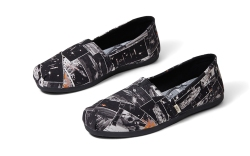 Black Star Wars Darth print men's