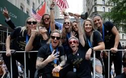 USWNT Parade NYC