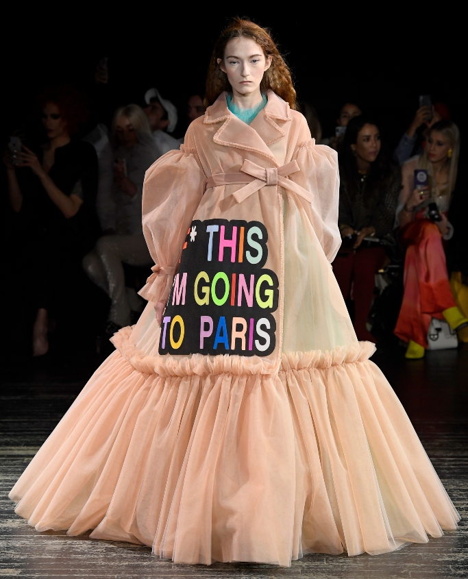 Viktor & Rolf spring 2019, Haute Couture Fashion Week fall 2019 front row
