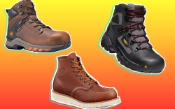 Popular Work Boot Brands: Timberland, Red