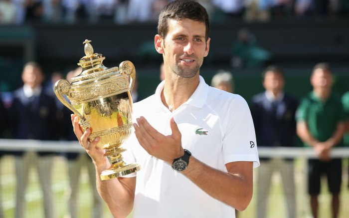 Novak Djokovic, wimbledon 2018 winner
