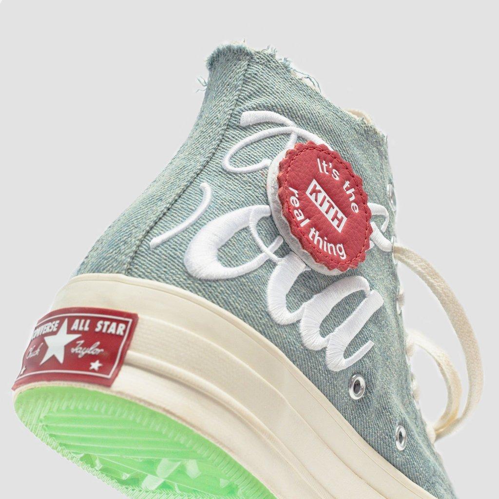 Kith x Coca-Cola x Converse Chuck Taylor 1970's