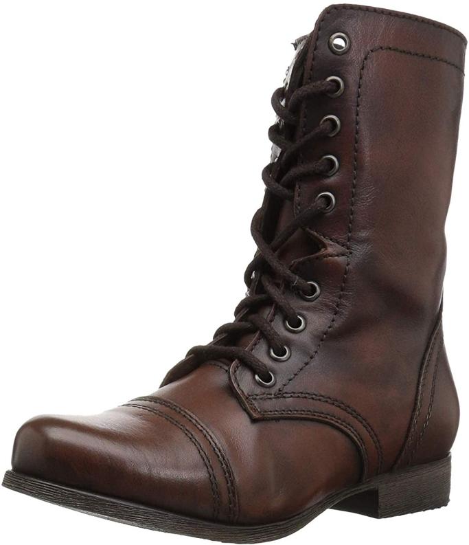steve madden troopa combat boot, women's combat boots